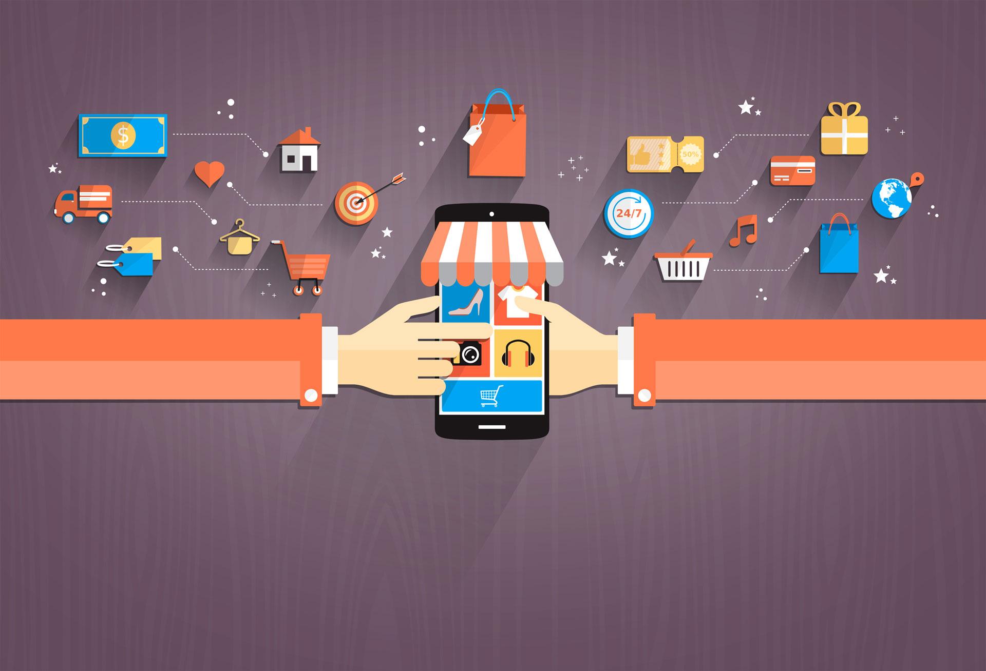 Comment expliquer l'évolution du e-commerce mobile ?